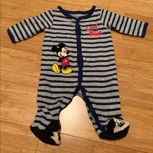 """Mickey Mouse """"Cool Like Dad"""" One Piece"""